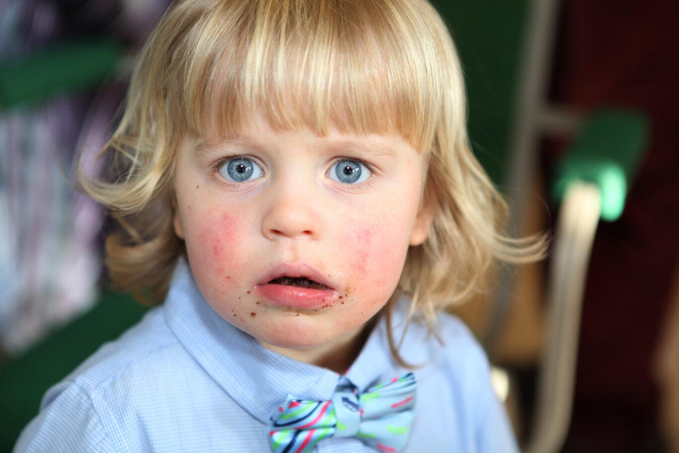 kid blue eyes